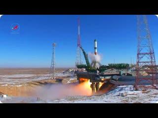 Пуск РН Союз-2.1а с ТГК Прогресс М-25М  29 октября 2014 г.