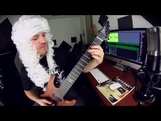 Rob Scallon - Badinerie (Bach metal cover)