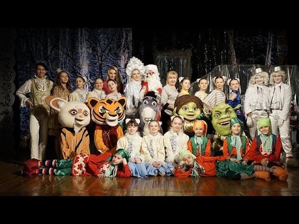 Новогодний переполох Детский театр кукол Дюймовочка