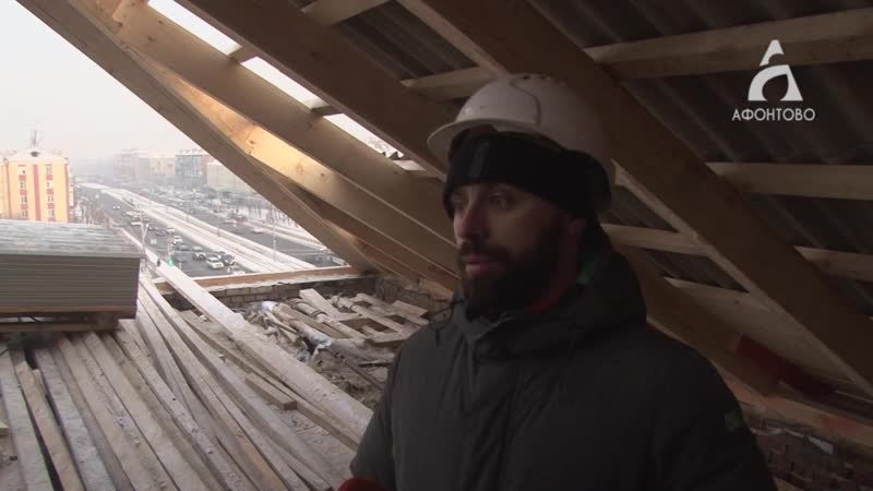 Капитальный ремонт крыш делают осужденные