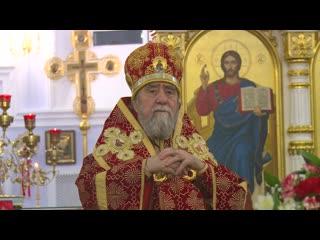 Проповедь митрополита Омского и Таврического Владимира на пасху