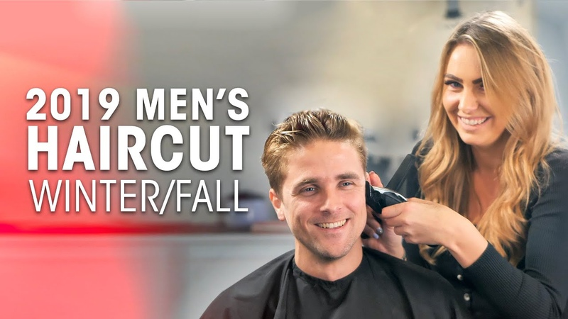 Mens Medium Haircut Color - Hairstyle for Winter/Fall 2019