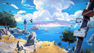 Coastline Breeze ☀️ Summer Lofi Beats