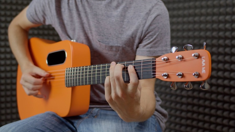 Lava Me 2 Review The Orange Carbon Guitar with Built In Reverb