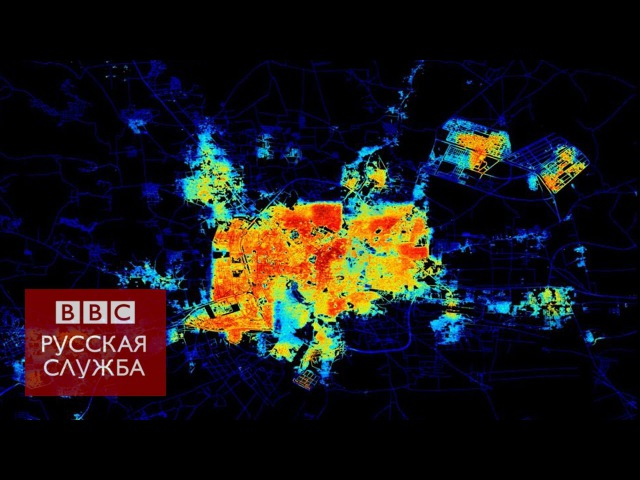 Сирия: вид из космоса до и после войны