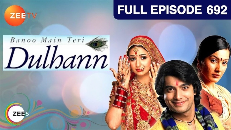 Banoo Main Teri Dulhann Hindi Serial Full Episode 692 Divyanka Sharad Malhotra Zee TV