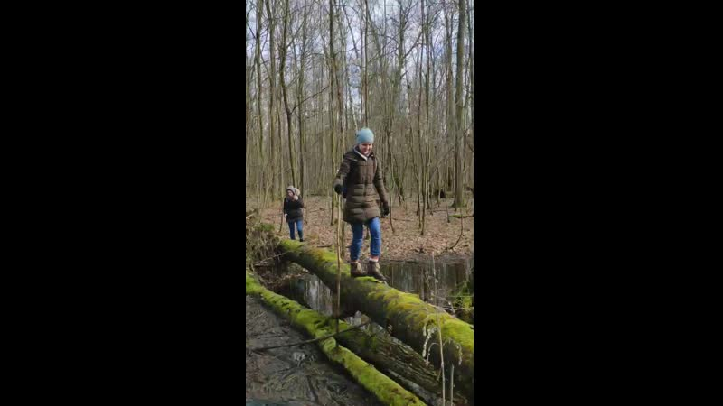 Павлинино - Колосовка. Эпизод 1. Экстримальный переход через ручей