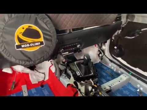 Mazda CX 5 дооснащение шумкой После шумоизоляции снижение шума составило минимум в 2 раза
