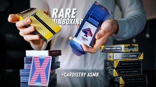 UNBOXING some of the MOST EXCLUSIVE Decks of 2021 + Cardistry ASMR