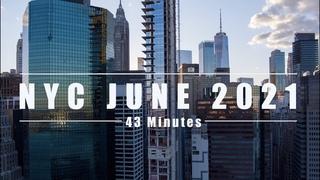 New York City Cinematic Aerials - June 2021