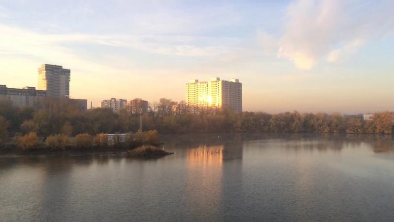 Утро. Новосибирск. Котлован на Сов. Сибири.