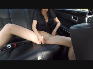 HOT GIRL POV Blowjob Deepthroat HOT WIFE STRIP Cum Anal Plug Suck skinny mother Suck cock Doggy MASTURBATING ON BACK SEAT OF THE