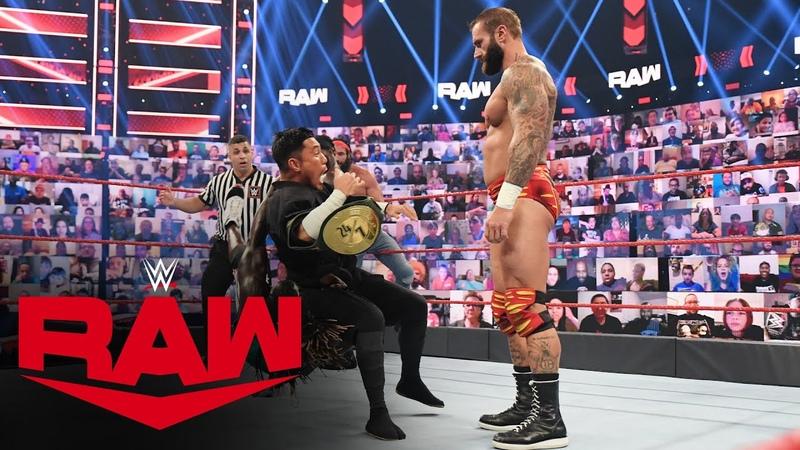 R Truth Jaxson Ryker vs Elias Cedric Alexander Raw July 5 2021
