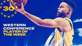 Стефен Карри. Лучший игрок западной конференции 17-й недели НБА 2020/21