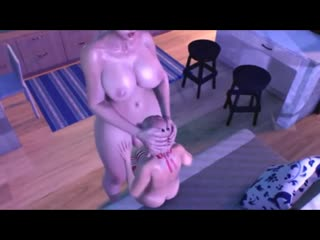 TWO SHEMALES AND TEEN GIRL - 3D FUCK FUTANARI PORN COMPILATION