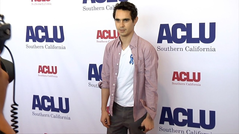 Max Minghella 2018 ACLU SoCal Annual Luncheon Red Carpet