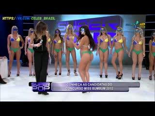 Candidatas do concurso Miss Bumbum