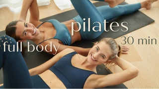 30 MIN Full body Pilates workout  // Strengthen and Toning  | 14 Day Full Body Challenge