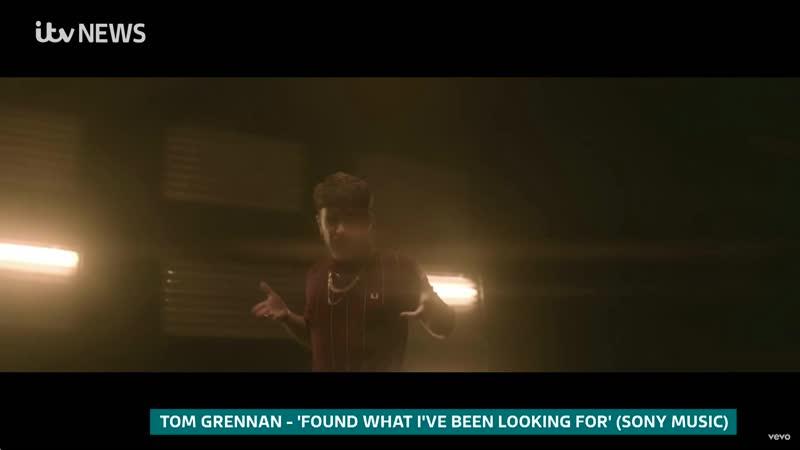 ITV News Tom Grennan's life in lockdown 30 03 20