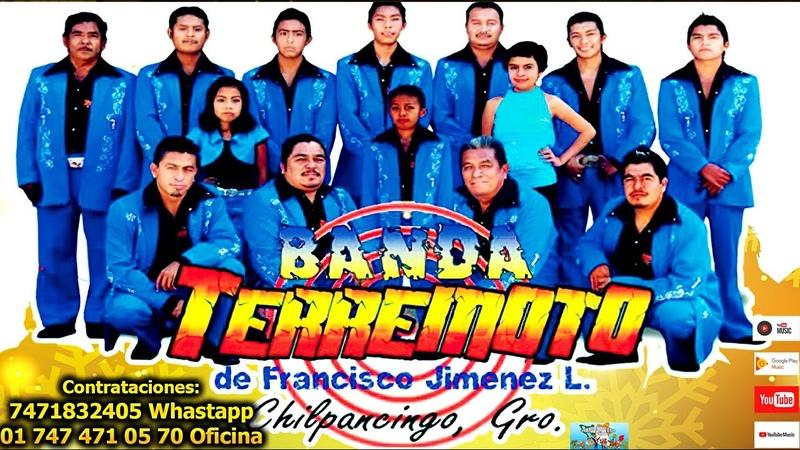 Banda Terremoto de Francisco Jiménez 😎El Palito 🌴 de 🥑Aguacate 🥑🥑