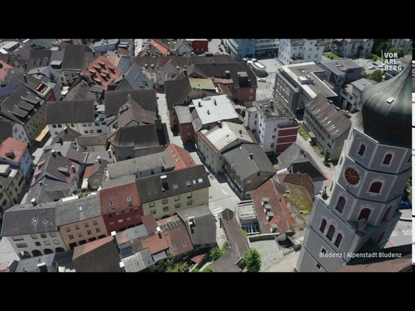 Bludenz Vorarlberg von Oben