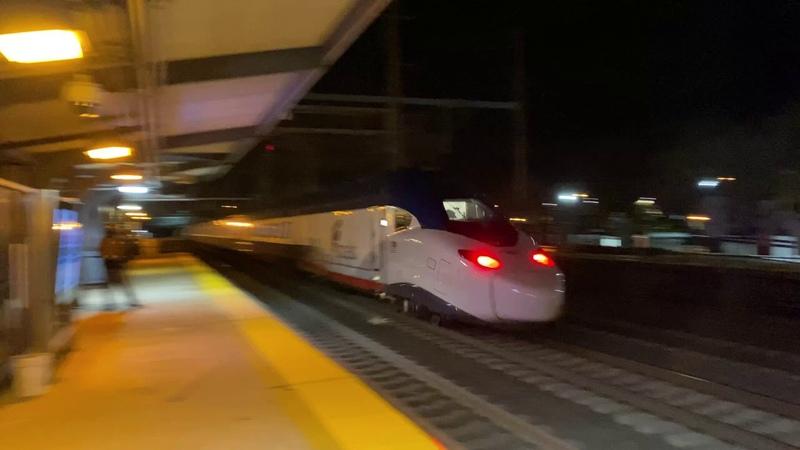 FAST NJ Transit Trains, 130 MPH Acela 21 (Avelia Liberty) Test Train @ Princeton Junction (111720)