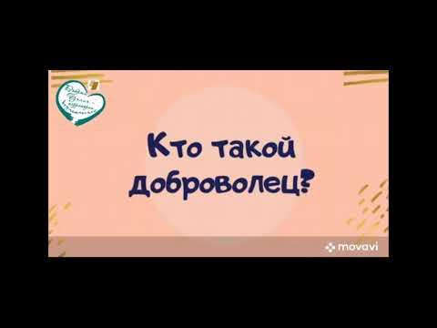Ролик соц рекламы Мы добровольцы Автор Гулиева Диана 1 место
