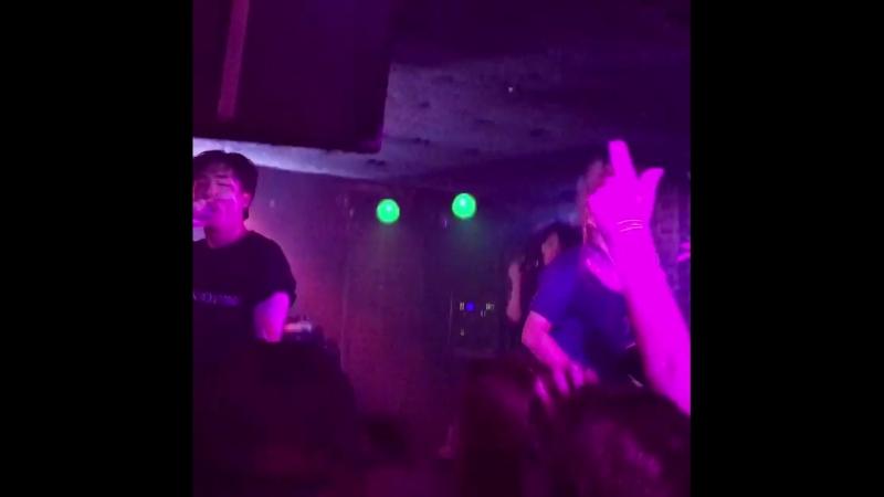 Fancam cut 180419 Rockbottom Kidoh 2018 Live in Europe in Warsaw cr @draubi ig