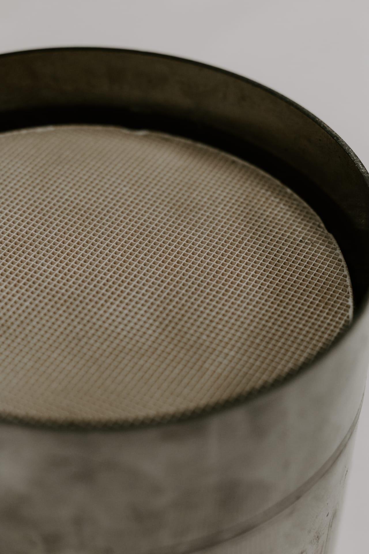 Как выглядит новый неиспользованный катализатор
