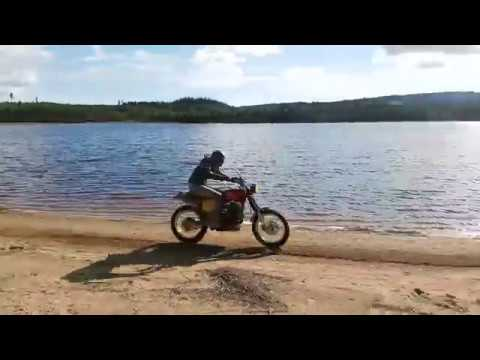 The Underdog - An NX650 Scrambler orgasm, Dominator Elsinore