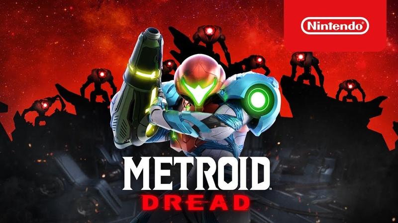 Metroid Dread Обзорный трейлер Nintendo Switch