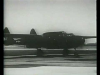 Flying The P-61 Series Airplane (1944)