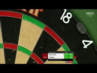 Glen Durrant vs Rob Cross (PDC Premier League Darts 2020 / Week 9)