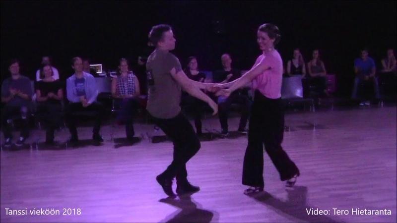 Tuomas Sillanpää Reetta Koivuniemi, Strictly Swing Finals, Tanssi vieköön 2018, Helsinki, Finland