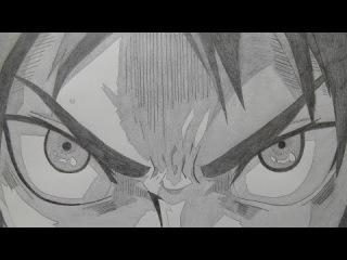 """""""Shingeki no Kyojin / Атака Титанов"""" нарисованный с помощью карандаша пользователем animesekai1984. На создания опенинга ушло 423 рисунка, и идет он со скоростью 3 кадра в секунду"""