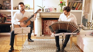 CINEMA PARADISO for bandoneon and guitar. Rafael Aguirre and Claudio Constantini