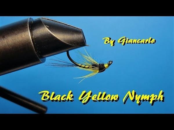 BLACK YELLOW NYMPH by Giancarlo
