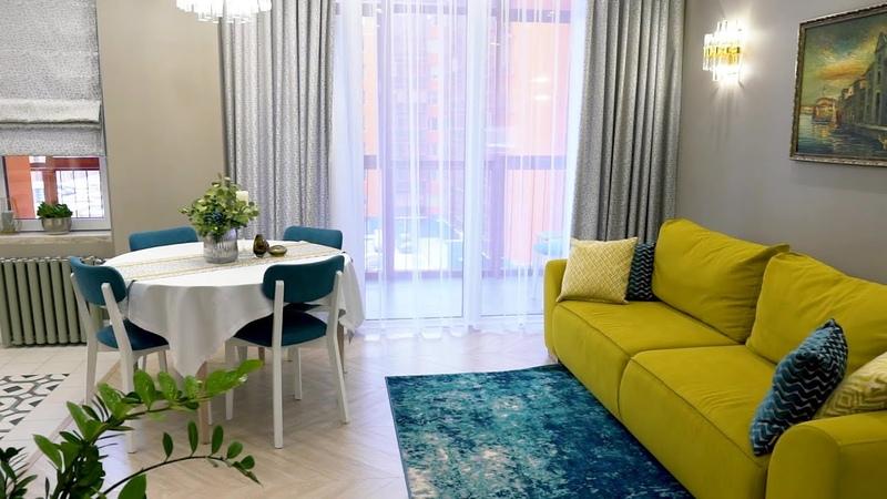 Современная классика как дизайнеры создали в обычной квартире интерьер как с обложки журнала