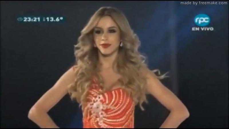 Belen Alderete Miss Universe Paraguay 2018