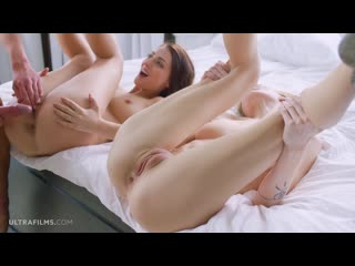 60fps Belle Claire, Katy Rose - Between Two Fires Ultra Films 1080p