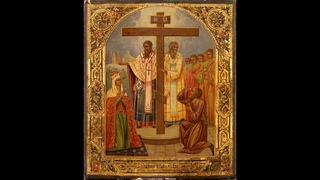 Акафист Воздвижению Честного Креста Господня   Мужской хор под управлением Александра Бордака 360p