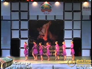 Finalistas World Tango Championships 2013 - Categoria Grupo Mujeres - Gotango