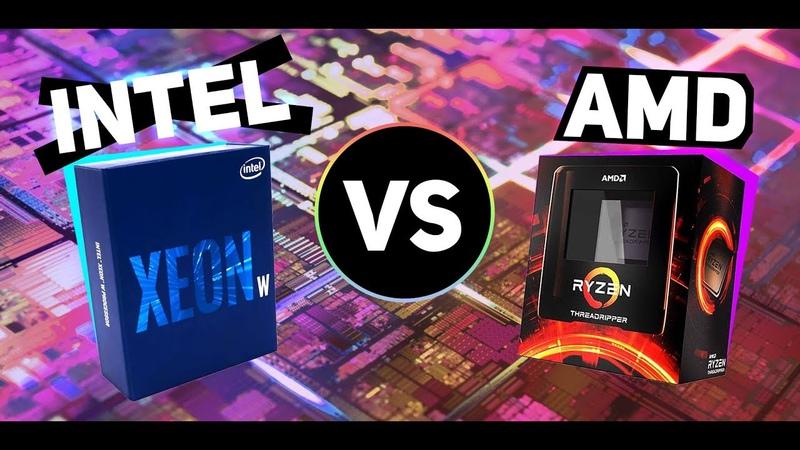 INTEL держись новые AMD Threadripper рвут процессоры INTEL Nvidia Ampere Hooper