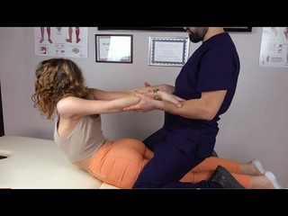 ASMR Manual Therapy Treatment - Chiropractic Adjustment Session