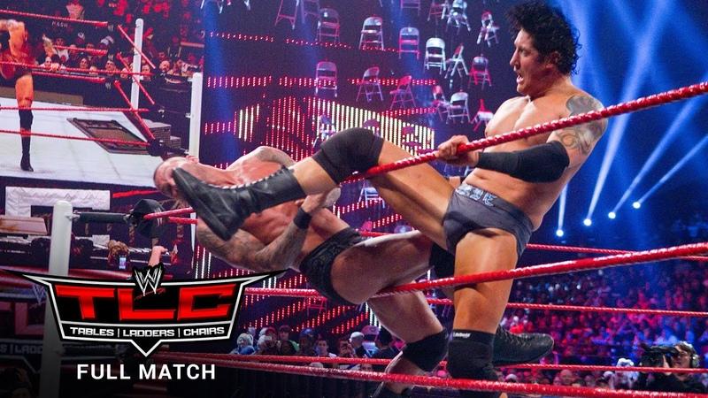 FULL MATCH Randy Orton vs Wade Barrett Tables Match WWE TLC 2011