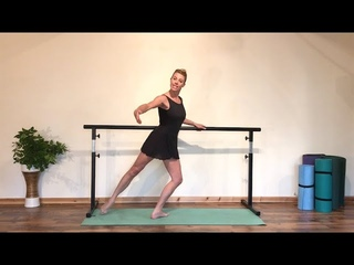 Full Ballerina Barre Workout
