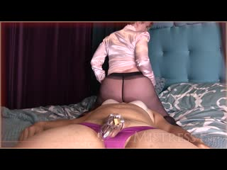 Mistress T - Humiliating MILF Face Sit (Taboo Pantyhose Facesitting)