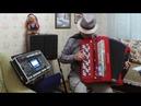 Электробаян Виктора Шевцова - Еду за Туманом Баян Roland FR-8xb Yamaha синтезатор в кейсе