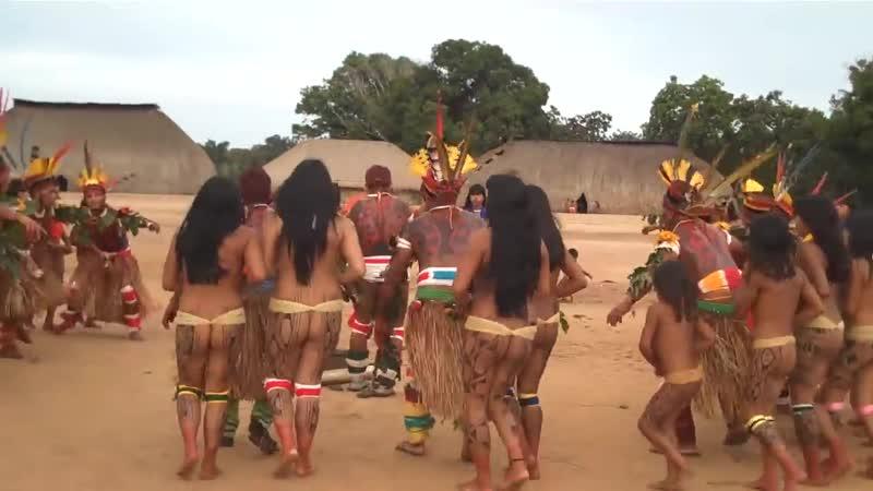 Brazil indigenous dance (2)