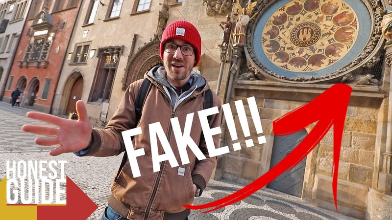 ASTRONOMICAL CLOCK IS FAKE WE KNOW WHERE'S THE REAL ONE Honest Guide